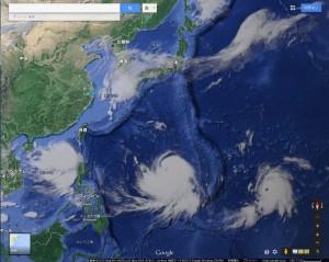 台風三連続1