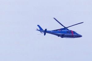 警察ヘリAW109
