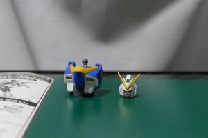 V2アサルトバスターガンダム 胸部・頭部完成