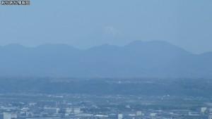 浜松アクトタワー展望台から富士山