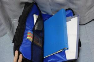PCバッグ BM-3W02BK ポケット3見本