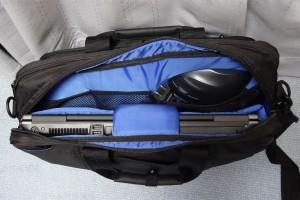 PCバッグ BM-3W02BK ポケット4見本