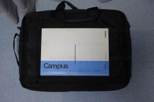 PCバッグ BM-3W02BK ポケット1大きさ
