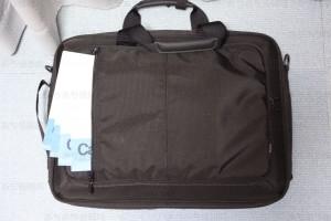PCバッグ BM-3W02BK ポケット1見本