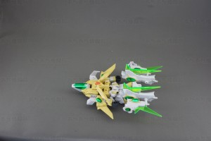 SDBFスターウイニングガンダム 飛行形態変形4