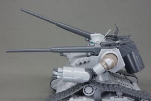 HG ガンタンク初期型 可動範囲砲身