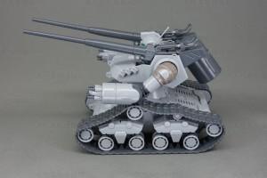 HG ガンタンク初期型 本体側面
