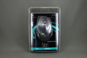 マウス Logcool M705t パッケージ表